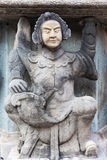 Estatua de piedra china Imagen de archivo libre de regalías