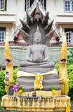 Estatua de piedra de Buda, budismo, Tailandia Imagenes de archivo