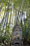 Estatua de piedra de Buddha Fotos de archivo
