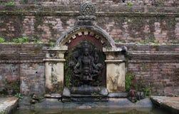 Estatua de piedra de la escultura de la diosa Imágenes de archivo libres de regalías