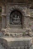 Estatua de piedra de la escultura de la diosa Fotos de archivo