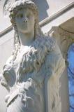 Estatua de piedra de la mujer Foto de archivo libre de regalías
