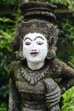 Estatua de piedra de una deidad antigua Imagen de archivo