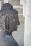 Estatua de piedra del monje Foto de archivo libre de regalías