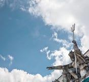 Estatua de Poseidon Neptuno Fotos de archivo