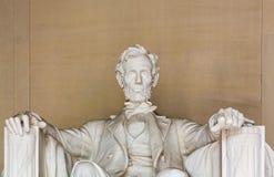 Estatua de presidente Lincoln Foto de archivo libre de regalías