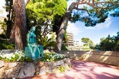 Estatua de princesa Monaco Foto de archivo