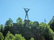 Estatua de PROMETHEUS fotografía de archivo libre de regalías