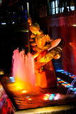 Estatua de PROMETHEUS en el centro de Rockefeller, NYC Fotos de archivo libres de regalías
