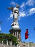 Estatua de Quito Fotografía de archivo
