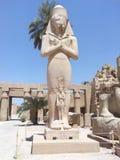 Estatua de Ramses II imagen de archivo