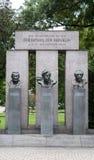Estatua de Republik del der del Das Denkmal Foto de archivo libre de regalías