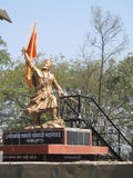 Estatua de rey Chatrapati Sambhaji Maharaj de Maratha Imagen de archivo libre de regalías
