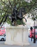 Estatua de rey George III imágenes de archivo libres de regalías