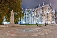 Estatua de rey George V en Londres, Inglaterra Imagenes de archivo