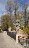 Estatua de rey Juan III Sobieski en Varsovia Imágenes de archivo libres de regalías