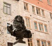 Estatua de rey Louis XIV Foto de archivo