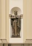 Estatua de rey Vladimir. Fotos de archivo