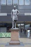 Estatua de Robert Stephenson imágenes de archivo libres de regalías