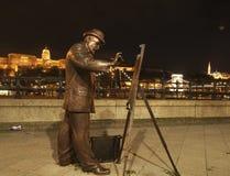 Estatua de Roskovics Ignac Foto de archivo libre de regalías
