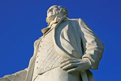 Estatua de Sam Houston imagenes de archivo