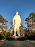 Estatua de Sam Houston en Huntsville, Tejas fotografía de archivo libre de regalías