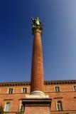 Estatua de San Domingo - Bolonia - Italia Fotografía de archivo libre de regalías