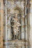 Estatua de San Juan Bautista, Coímbra, Portugal Foto de archivo