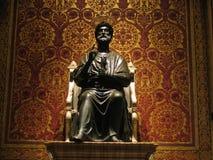 Estatua de San Pedro Imagenes de archivo
