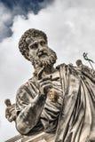 Estatua de San Pedro foto de archivo