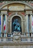 Estatua de San Petronio Bologna Imagenes de archivo