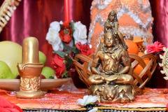 Estatua de señor Shiva Imagenes de archivo
