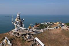 Estatua de señor Shiva Murdeshwar, la India Fotografía de archivo