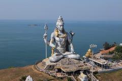 Estatua de señor Shiva Murdeshwar, la India Imagen de archivo