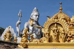 Estatua de señor Shiva Murdeshwar, la India Imagen de archivo libre de regalías