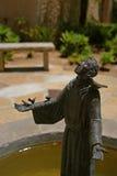 Estatua de Serra del padre fotos de archivo