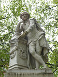 Estatua de Shakespeare Fotos de archivo libres de regalías