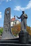 Estatua de Shevchenko Foto de archivo libre de regalías