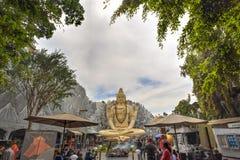 Estatua de Shiva en Bangalore, la India foto de archivo