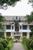 Estatua de Sisavang Vong Imagen de archivo libre de regalías