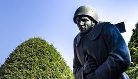Estatua de soldados Fotos de archivo