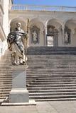 Estatua de St. Benedicto Imagen de archivo libre de regalías