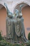 Estatua de St Benedicto Fotos de archivo libres de regalías
