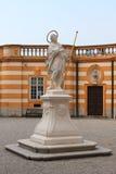 Estatua de St. Coloman en la abadía de Melk, Austria Fotos de archivo libres de regalías