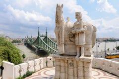 Estatua de St Stephen Imágenes de archivo libres de regalías