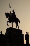Estatua de St. Vaclav Fotografía de archivo