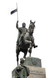 Estatua de St. Vaclav Imágenes de archivo libres de regalías