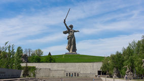 Estatua 3 de Stalingrad Foto de archivo libre de regalías