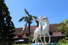 Estatua de Sultan Hasanuddin imagen de archivo