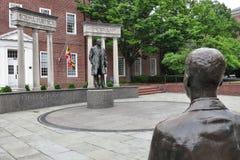 Estatua de Thurgood Marshall del juez del Tribunal Supremo de los E.E.U.U. Foto de archivo